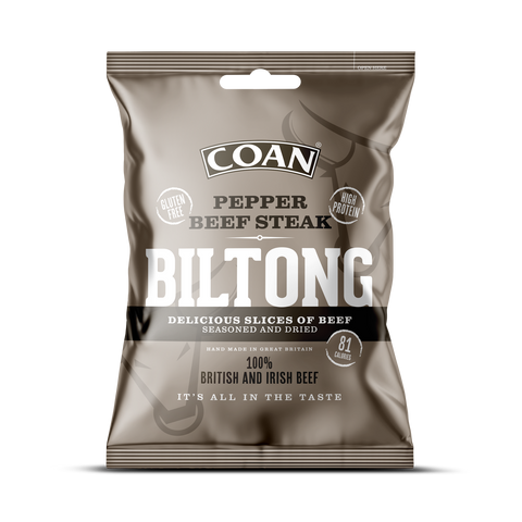 Pepper Beef Steak Biltong