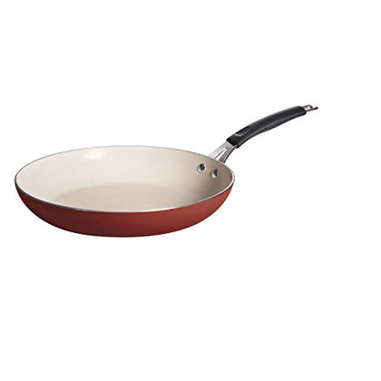 Tramontina 80151/055Ds Style Simple Cooking Fry Pan, 12-Inch, Spice Red