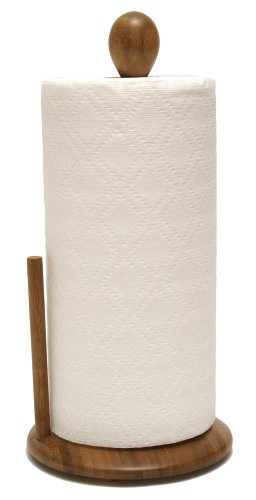 Lipper International 8838 Bamboo Collection Standing Paper Towel Holder