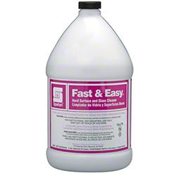 Spartan Fast & Easy Hard Surface & Glass Cleaner Ready To Use 1 Gallon