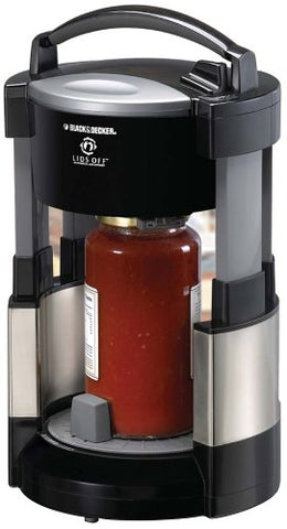 Black & Decker Jw200Bm Lids Off Jar Opener, Stainless