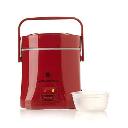 Wolfgang Puck Signature Perfect Portable Rice Cooker Red