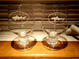 Dogfish Head Goblet Glass