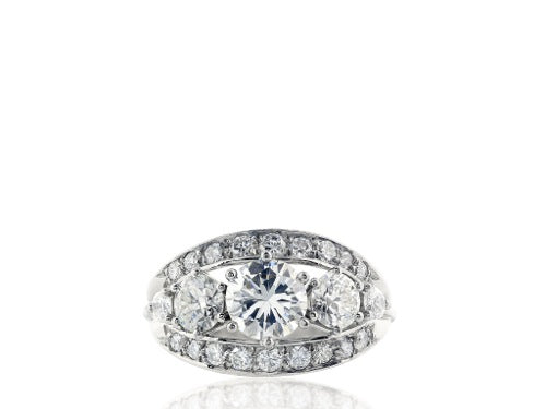 2.13ct Diamond Estate Ring