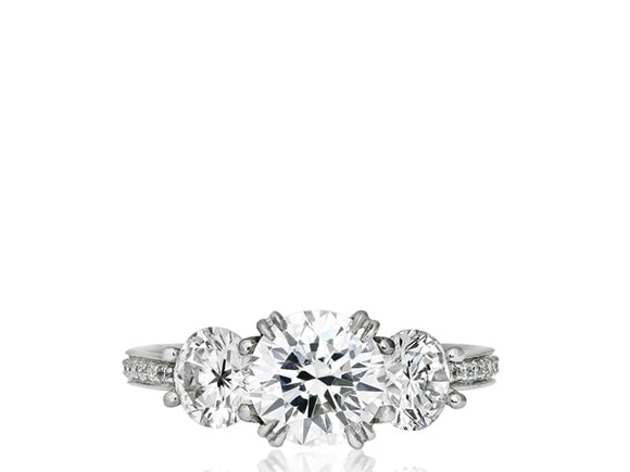 1.19ct Round Brilliant Cut Diamond Ring