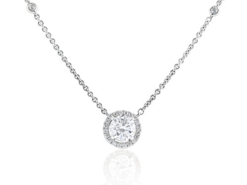 1.25ct Round Brilliant Cut Diamond Pendant