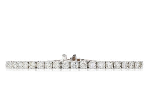 8.92 Carat Diamond Tennis Bracelet