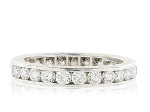 1.84 Carat Diamond Channel Set Eternity Band
