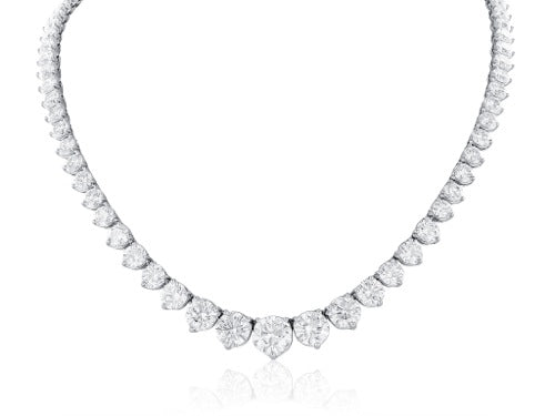 44.60ct Diamond Riviera Necklace
