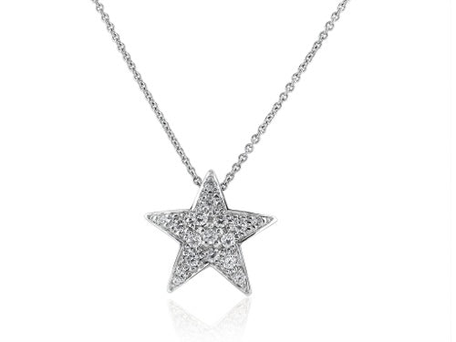 .40 Carat Diamond Star Pendant