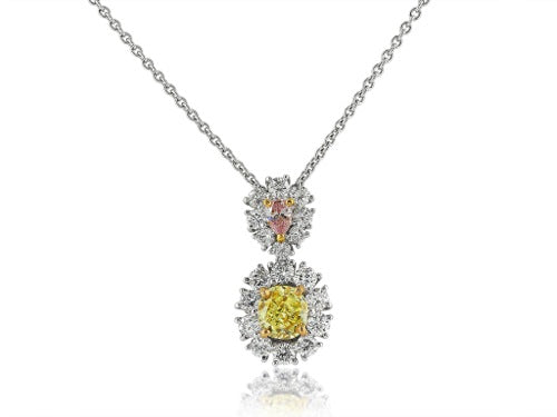 .54ct Fancy Color Diamond Pendant