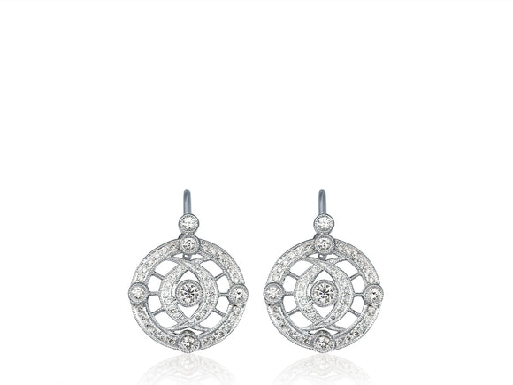 .44ct Diamond Drop Earrings
