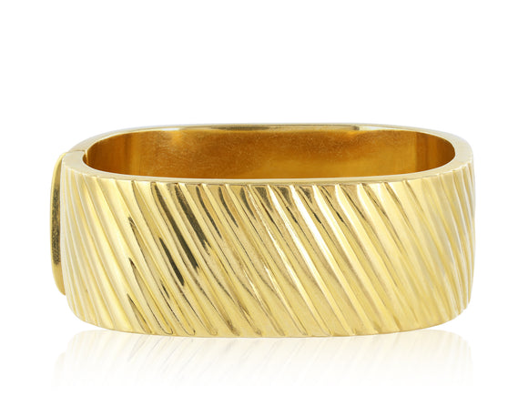 18kt YG Chimeto Bangle Bracelet