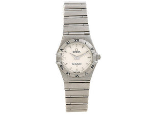 Omega Constellation Silver Quartz 25.5mm Style No. 1572.30.00