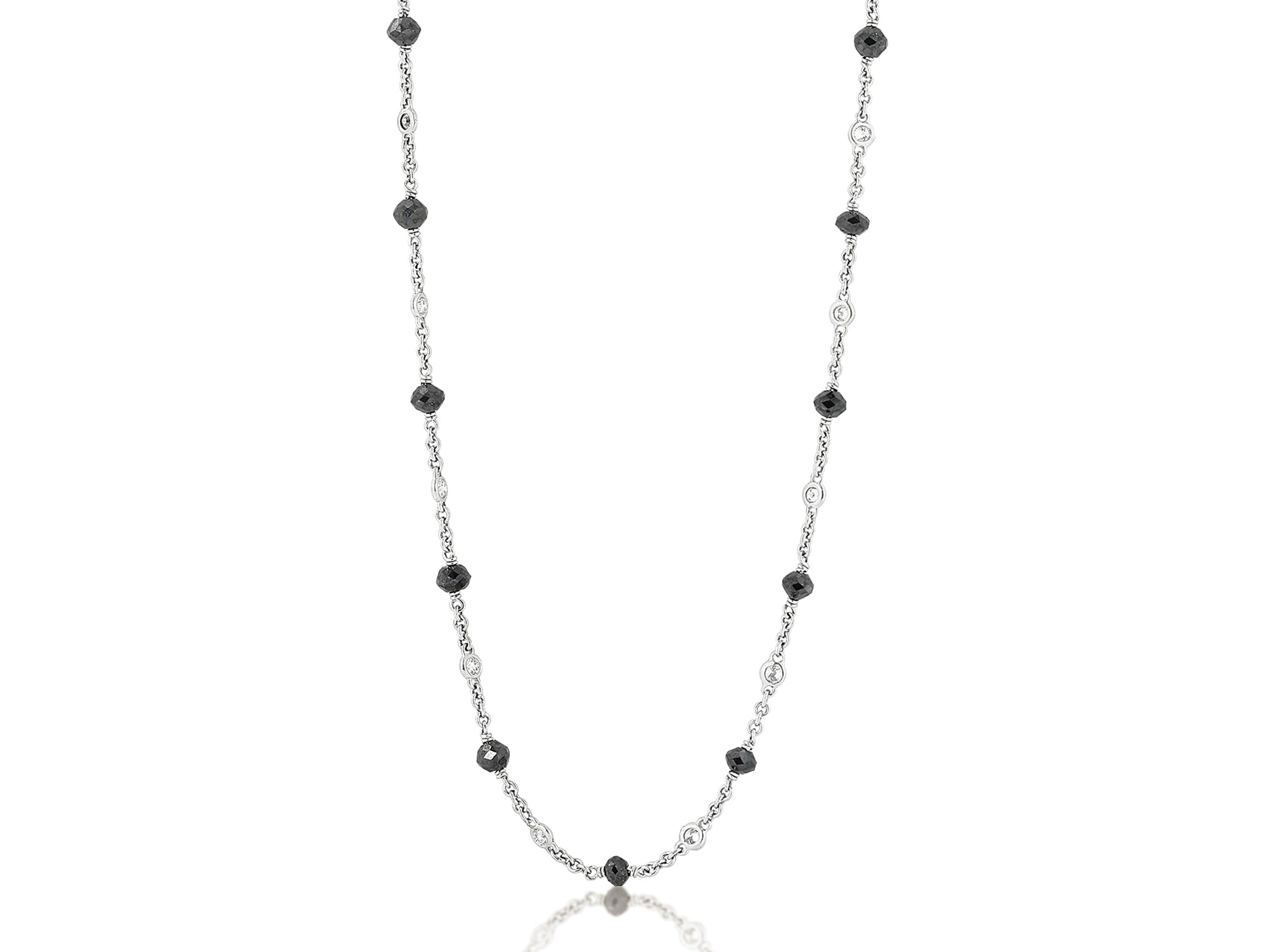 15.05ct Diamond by the Yard Necklace