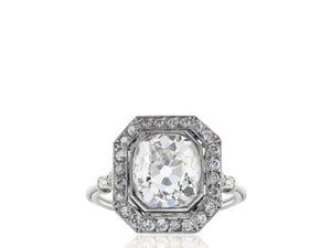 2.78ct Old European Cut Diamond Ring