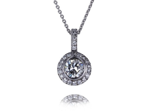 .89ct Round Brilliant Cut Diamond Pendant