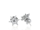 1.35 Carat Diamond Star Earrings