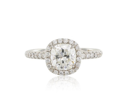 1.27ct Cushion Cut Ring