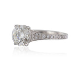 18kt WG 1.59CT H VS2 GIA Diamond Ring