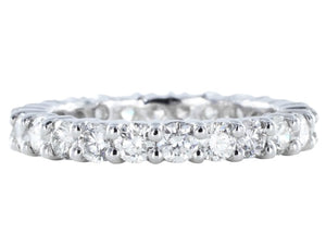 2.21ct Round Brilliant Cut Diamond Eternity Band
