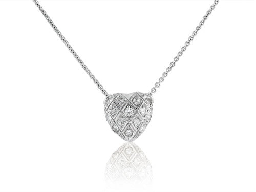 .30 Carat Diamond Heart Pendant