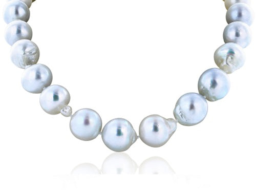 15mm Baroque Pearl Necklace