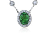 1.88ct Tsavorite Diamond Pendant
