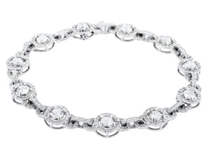 5.93ct Round Brilliant Cut Diamond Bracelet