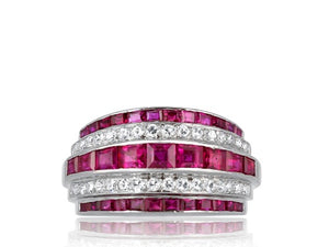 Ruby & Diamond Vintage Ring