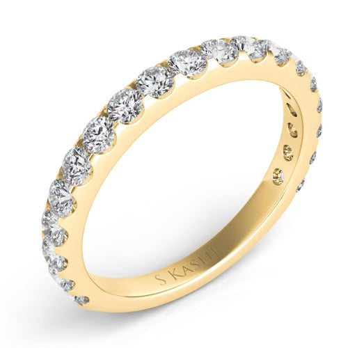 .86ct 18kt YG Diamond Band