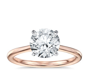 RBC diamond 1.05 ct H VS1 Tiffany& Co cert sol engagement ring.