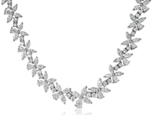 40.46ct Fancy Shape Diamond Necklace