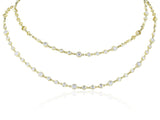 18 Kt 8.98 carats Diamond Necklace