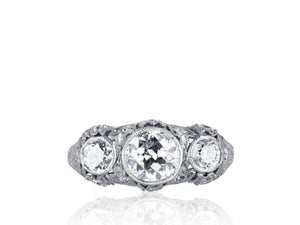 1.85ctw Edwardian Diamond Ring