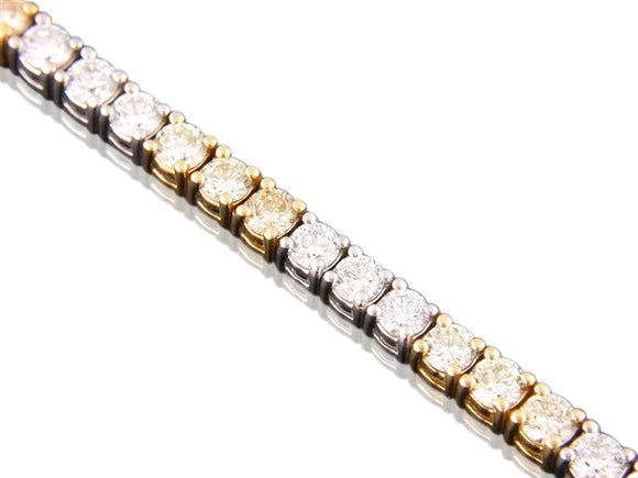 7.86ct Canary Diamond Bracelet