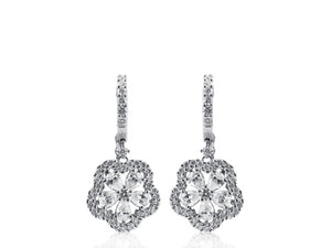 2.55ctw Diamond Drop Earrings