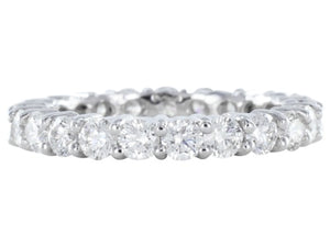 1.91ct Round Brilliant Cut Diamond Eternity Band