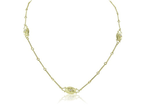 .54ct Diamond and Yellow Gold Necklace