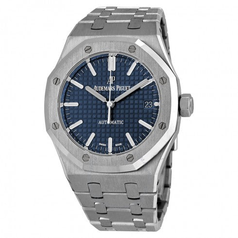 Stainless steel AP Chrono blue 26300st watch