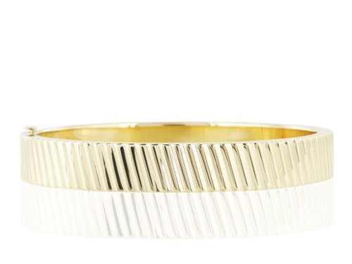 18 Karat Yellow Gold Bangle