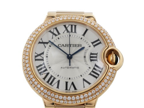 Cartier Ballon Blue Watch Pink Gold