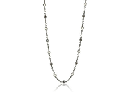 2.50ct Diamond by the Yard Necklace