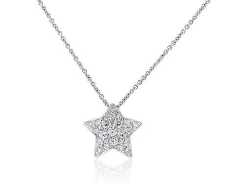 .50 Carat Diamond Star Pendant