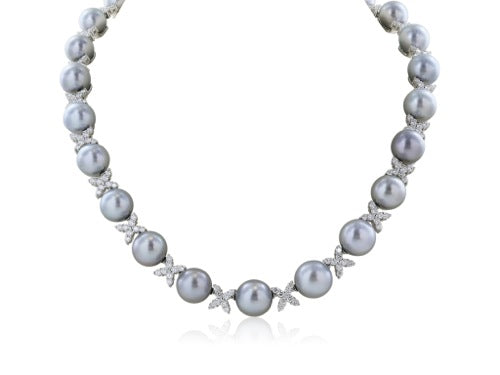 Tahitian Pearl Necklace 9.5 - 12mm