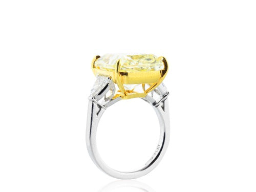 12.03ct FY GIA Canary Diamond Ring