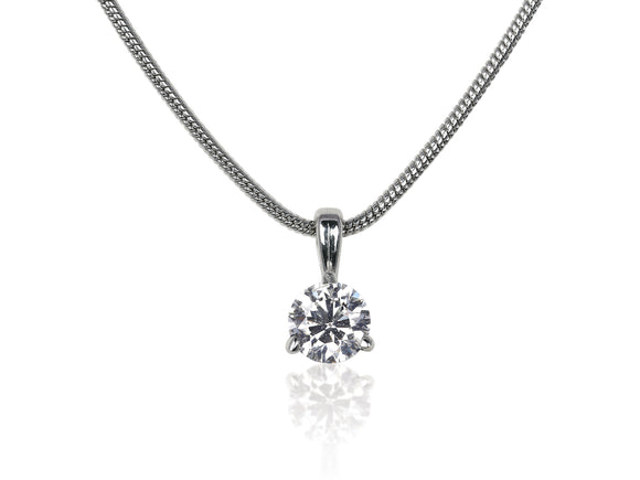 .35ct Round Brilliant Cut Diamond Pendant