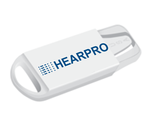 Hearing Aid Battery 312 Travel Caddie Case by Hearpro