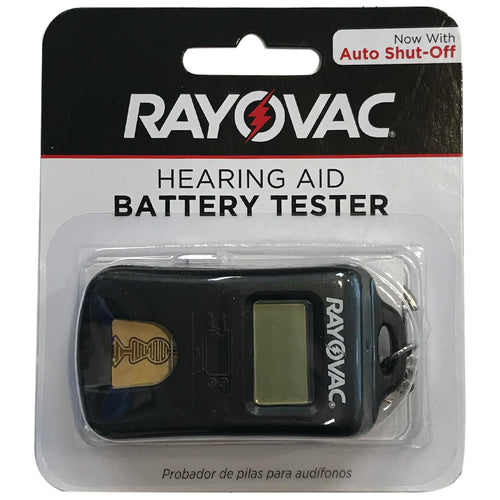 RAYOVAC Advanced Hearing Aid Battery Tester