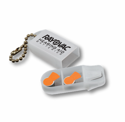 RAYOVAC Hearing Aid Battery Keychain Case
